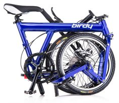 The Birdy New Classic folding bike with full suspension folds in about 10 seconds available at www.UrbanBikeFitters.com