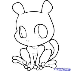 chibi pokemon coloring pages Coloring Pages For Boys, Colouring Pages, Coloring Books, Kids Colouring, Coloring Stuff, Mew And Mewtwo, Pokemon Mewtwo, Best Legendary Pokemon, Pinterest Sketches
