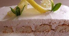 Citromos álom recept képpel. Hozzávalók és az elkészítés részletes leírása. A Citromos álom elkészítési ideje: 10 perc Citrus Recipes, No Bake Desserts, Baking Desserts, Vanilla Cake, Ale, Cake Recipes, Cheesecake, Food And Drink, Pudding