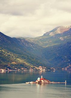 Floating Church in Montenegro