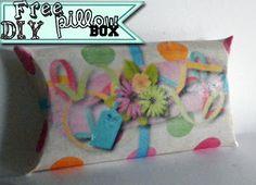 Cassie's Creative CraftsI hope you will enjoy my pillow box tutorial and free printable!!  #free #digitalscrapbookingfreebie #pillowbox #pillowboxtutorial #DIYcrafts #papercrafts #crafts