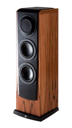 Tower Speakers, Diy Speakers, Built In Speakers, Audio Design, Speaker Design, High End Audio, Hifi Audio, Home Cinemas, Loudspeaker