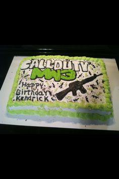 Call of Duty Cake!