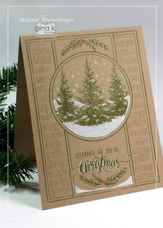 Hello! Today several designers from the Gina K. team are joining up with the Cardmaker Blog Design team to showcase the newest StampTV K...