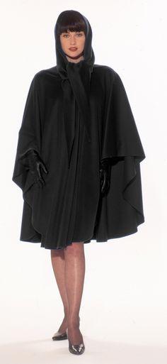 Irish Wool Cape - Jimmy Hourihan Wool and Cashmere Knee Length Cape $179