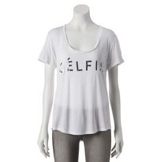Recycled Karma High-Low Celfie Tee - Juniors by Kohl's - Found on HeartThis.com @HeartThis