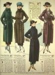 History of 1920s Coats, Furs and Capes  Womens