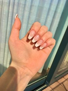 manicure francesa Gel Nail, French Tips