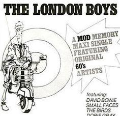 "David BowieThe London Boys 7"" Vinyl Sampler! Authentic Vintage 1979! David Bowie  The London Boys  3 Other Artists Decca FR13864 NearMint"