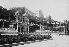 Budavári Palota - A Várbazár egy korabeli fotón