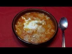 YouTube Tostadas, Oatmeal, Soup, Pudding, Cream, Breakfast, Desserts, Youtube, Garlic Spread