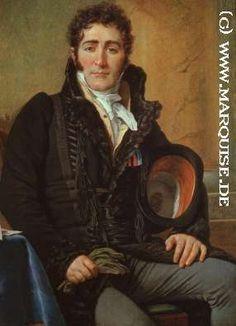 Comte de Turenne, by Jacques-Louis David, c. 1816. Via marquise.de.