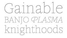 gauthier display fy by fontyou #fonts #fontshop