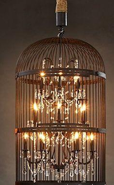 milk bottle chandelier | Lots of Rustic lighting choices