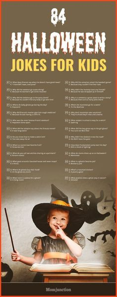 84 Funny Halloween Jokes For Kids Are you searching for some fun, top and silly jokes for kids? Here is the list of funny jokes for kids! So, switch off the TV and let these jokes roll on! Halloween Tags, Funny Halloween Jokes, Funny Jokes For Kids, Halloween Party Games, Silly Jokes, Halloween Quotes, Halloween Crafts For Kids, Couple Halloween, Holidays Halloween