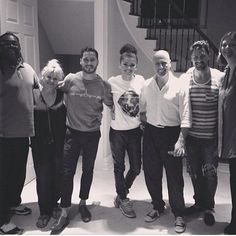 Maks, Val, Zendaya w/ (The moms and dads)