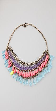 Briolette Torsade Necklace