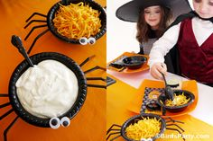 How to Style a Halloween Chilling Chili Buffet: DIY Party Ideas, Crafts and Decor by Bird's Party