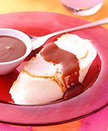 Fudgy Ice Cream Cake Roll