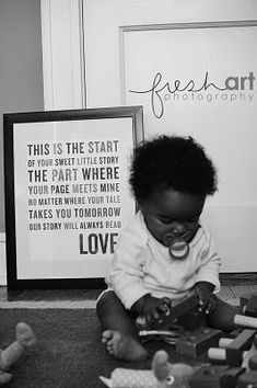 borrowed from a blog I happened to come accross.  read the words  behind the adorable baby.