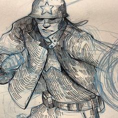 Natalie Hall - Captain America