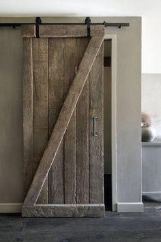 My Dream Barn Door … in mini version Happy New Home, Barn Door Hardware, Interior Design Living Room, Future House, Interior And Exterior, Home Goods, Sweet Home, Bedroom Decor, New Homes