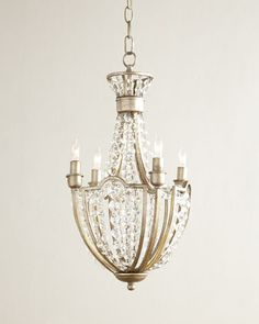 Cristabel 4-Light Crystal Chandelier at Neiman Marcus.