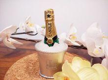 2016 NEW Champagne art bougie mariages décoration de la maison bougie(China (Mainland))