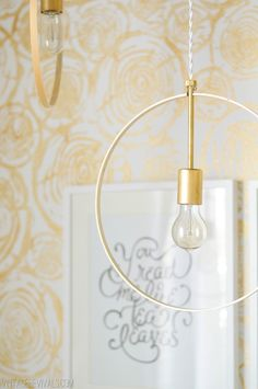 You guys, this tutorial is an easy one! Get excited for amazing lighting!! This little hang out corner of Macie's Bedroom was just itching for a really great statement light. Keeping with the laid back boho theme of the room I thought that a bunch of swaggy lights would be perfect. I was totally inspired …