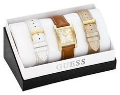 Часы GUESS Box set W0204L2
