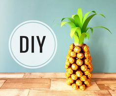 Ananas Geschenk  Prezent ananas Ferrero Rocher  Youtube video. Gift. DIY