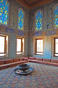 Inside the Harem, Topkapi Palace, Istanbul, Turkey