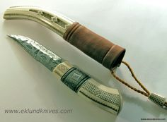 andre andersson knives | Half Horn Knife