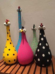 Cement, voda a piesok – táto zmes nemusí slúžiť len na bet Paper Mache Crafts, Clay Crafts, Diy And Crafts, Arts And Crafts, Cement Art, Concrete Crafts, Paint Concrete, Chicken Crafts, Chicken Art