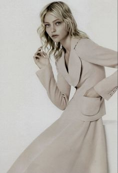 Sasha Pivovarova by Corinne Day, Vogue UK September 2007