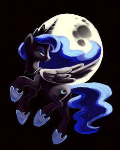 """My friend said something AMAZING today that i really admire. So she drew this beautiful drawing of princess Luna here, and she put it in her school notebook and people made fun of her for liking MLP. and she said """"you know, I don't care what you like or dislike. I will respect your decision. so what if I like my little pony? its not about the picture, its about the drawing and its true beauty."""" and I thought that that was awesome of her. :)"""