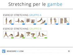 Stretching per le gambe: esercizi di allungamento