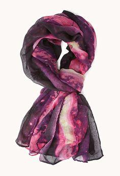 #ForeverHoliday Daydreamer Tie-Dye Scarf | FOREVER21 - 1000091024