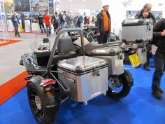 Watsonian Squire BMW R 1200 GS Side-Car por Keith Drummond