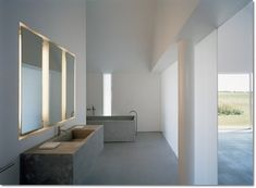 This home in Sweden designed by architect John Pawson for Fabien Baron is mouth watering. Truly an inspiration for the modern minimalist. Modern Minimalist, Minimalist Design, Nordic Interior Design, John Pawson, Mattress, House Ideas, The Originals, Architecture, Bed