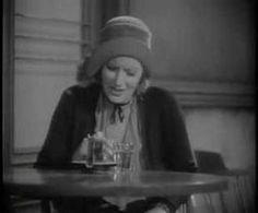 GRETA GARBO in english Anna Christie the whiskey scene - (her first talk...