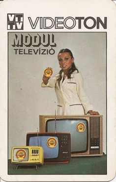 Videoton tv Vintage Girls, Vintage Ads, Vintage Posters, 80s Ads, Retro Ads, Stand Up Comedy, Retro Aesthetic, Electronics Projects, Illustrations And Posters