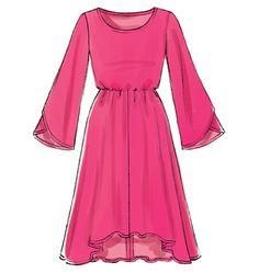 M6890, Misses' Dresses