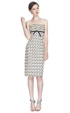 Shop Giambattista Valli Leopard Empire Waist Cocktail Dress at Moda Operandi
