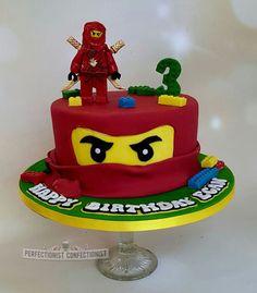 Egan - Ninjago Lego Birthday Cake