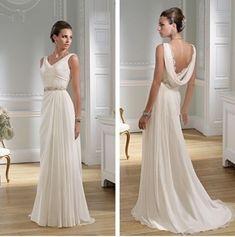 Abito da sposa stile romano | Stile e bellezza