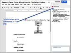 A variety of ways you can use GoogleDocs for writing