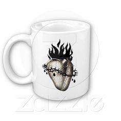 Sacred Heart of Jesus prayer mug from Zazzle.com