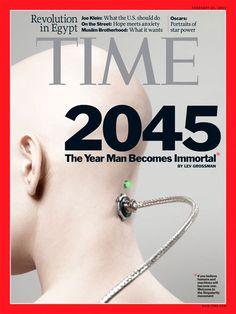 TIME magazine cover 2045