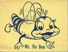 Mr. Do Bee from Romper Room